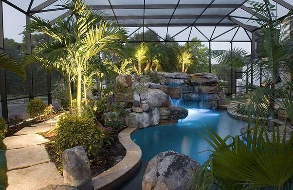 Posts Related To South Florida Pool Landscaping Ideas Poollandscaping Backyard Pool Landscaping Pool Landscaping Pool Landscape Design