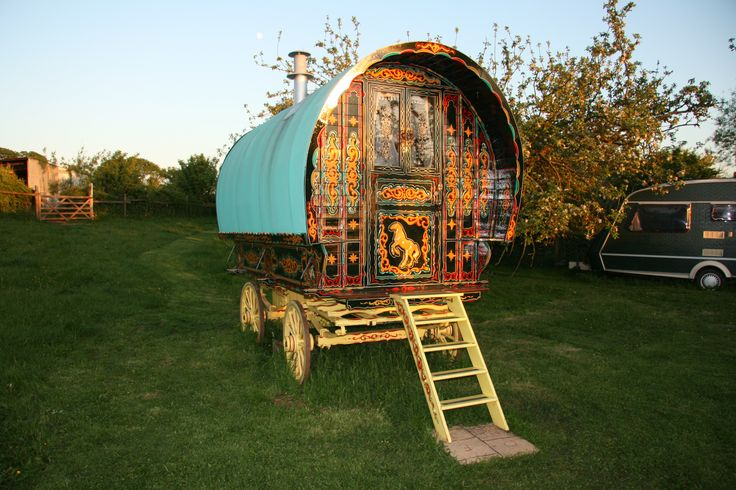www.gypsycaravanbreaks.co.uk  Or just imagine you are one of the characters from Enid Blyton's Famous Five and enjoy the fact you are staying in the actual caravan that was used in the TV series