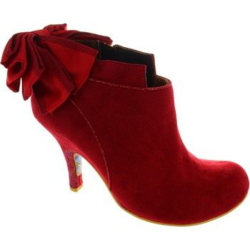 Fashionable trouser boots from Irregular Choice. - Colour : Red Multi - Shoes Women £ 89.99