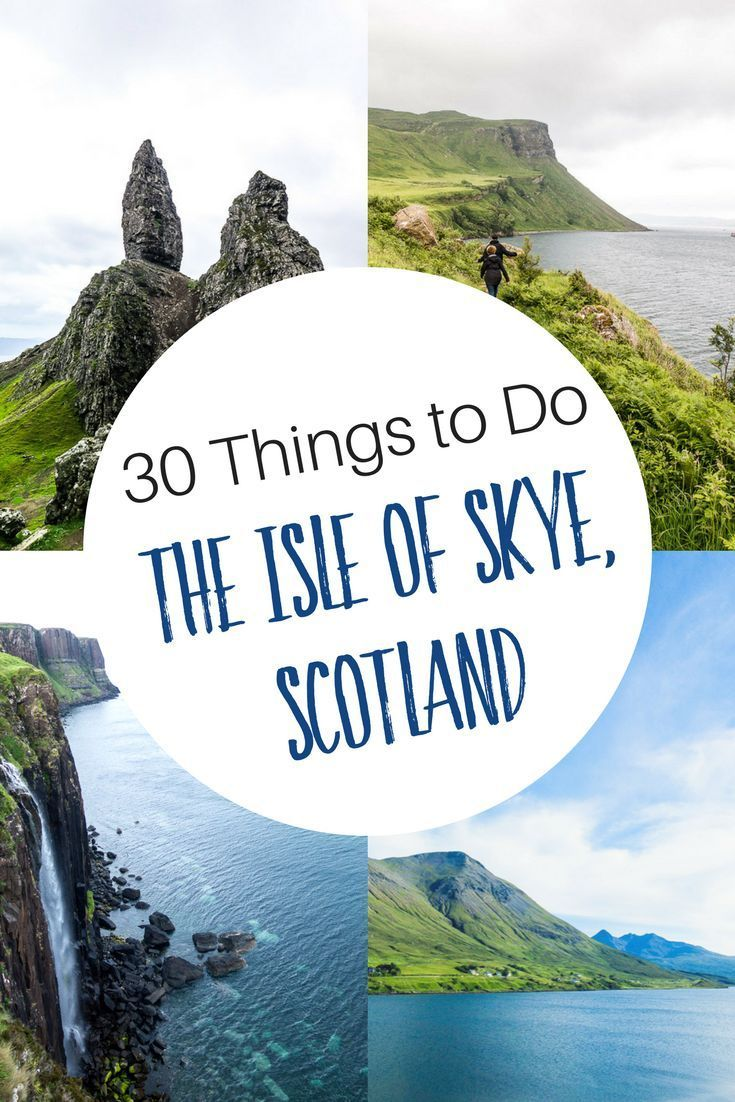 What to do on the Isle of Skye, Scotland: where to stay, castles to visit, what to do with kids on the Isle of Skye