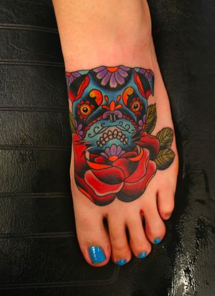 PUG TATTOO | PUG TATTOOS | Pinterest | Pugs, Pug Tattoo ...