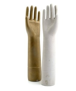 A pair of hands designed by Gio Ponti, 1935, manufactured by Richard Ginori, Milan, Italy