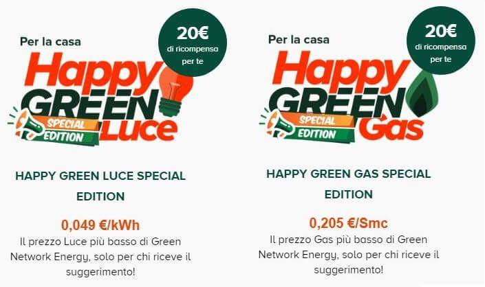 Green Network Energy Porta Un Amico Amico