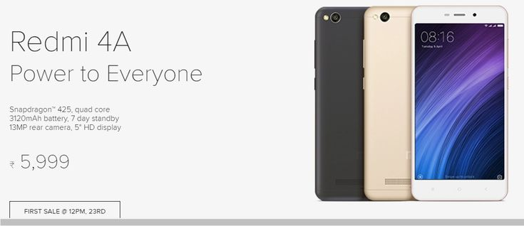 Xiaomi Redmi 4A goes on flash sale today at 12 noon. Buyers of Redmi 4A will get 28GB 4G Internet Data at Rs. 343 on idea network at Free of cost.