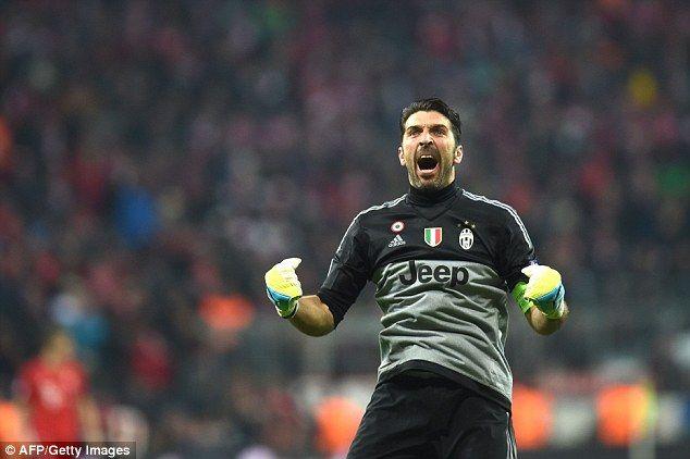 Buffon Satu-satunya Wakil Italia dalam Daftar Kandidat Pemain Terbaik FIFA 2016
