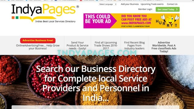 SEE HOW TO POST A FREE BUSINESS LISTING AT INDYAPAGES.COM IN SIMPLE STEPS, WITH ITS AWARD-WINNING MEMBER DASHBOARD  INDYAPAGES is B2B, B2C, the end to end business directory listings for SME's MSME's startups, shop owners, dealers, manufacturers, importers, exporters, retailers, professionals, freelancers and more. One can join the site free, in an absolute hassle free, easy steps. Our dashboard is award-winning, easy to use, most advanced platform, where you can manage your listings, post…