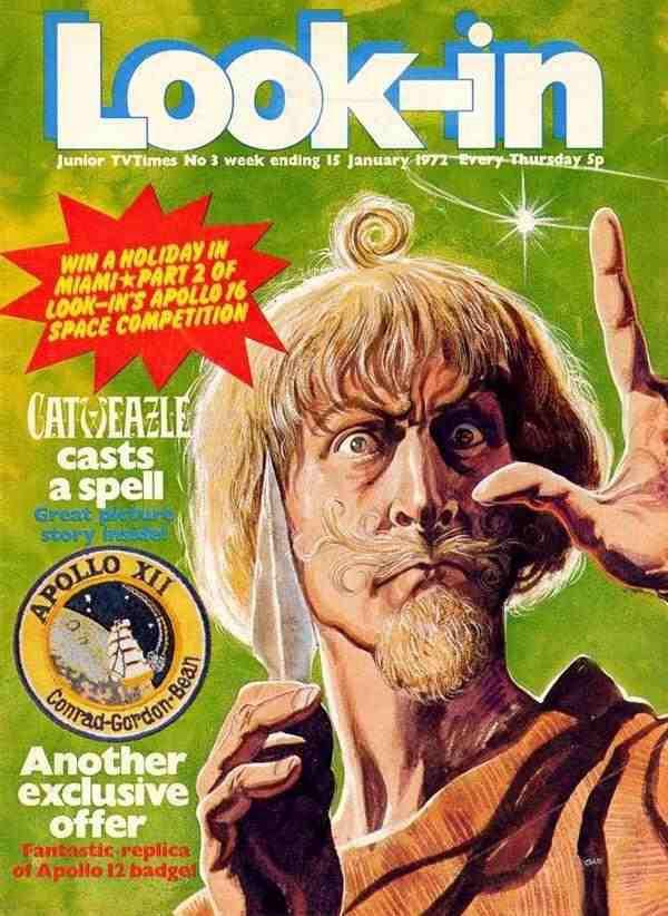 Look-In January 1972, Catweazle.