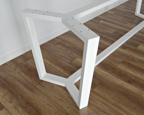 Steel Dining Table Frame Aura 80x40mm Steel Metal Table Legs