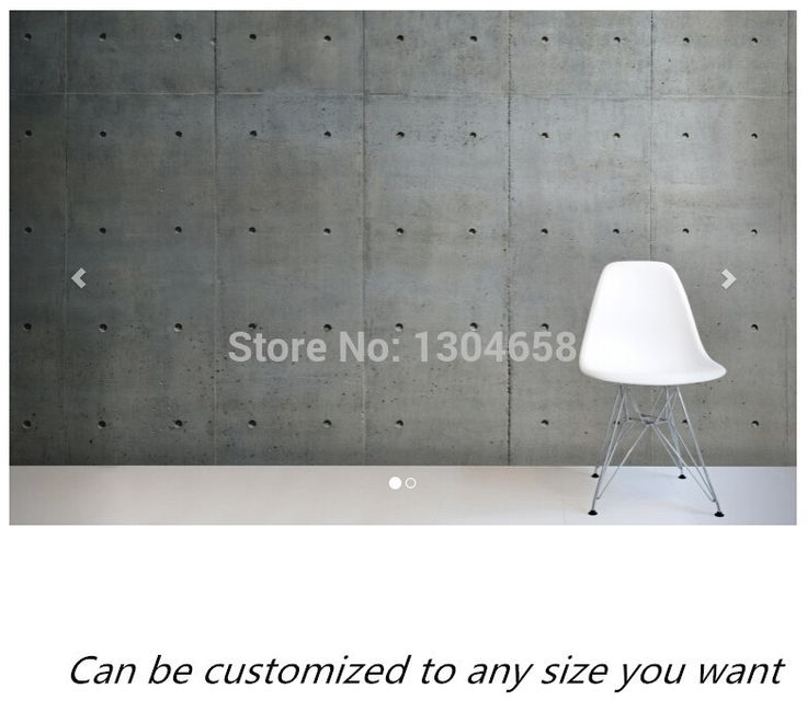 29.00$  Buy now - Custom photo wallpaper,Bare Concrete 3D mural for living room bedroom restaurant kitchen wall waterproof PVC papel de parede  #buyonline
