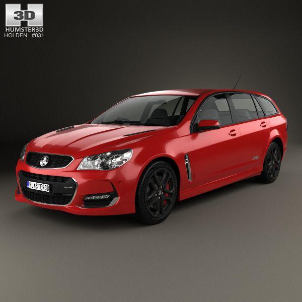 Holden Commodore SSV Redline Sportwagon 2015 3D model  Redline