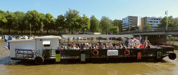 Jakke river boat