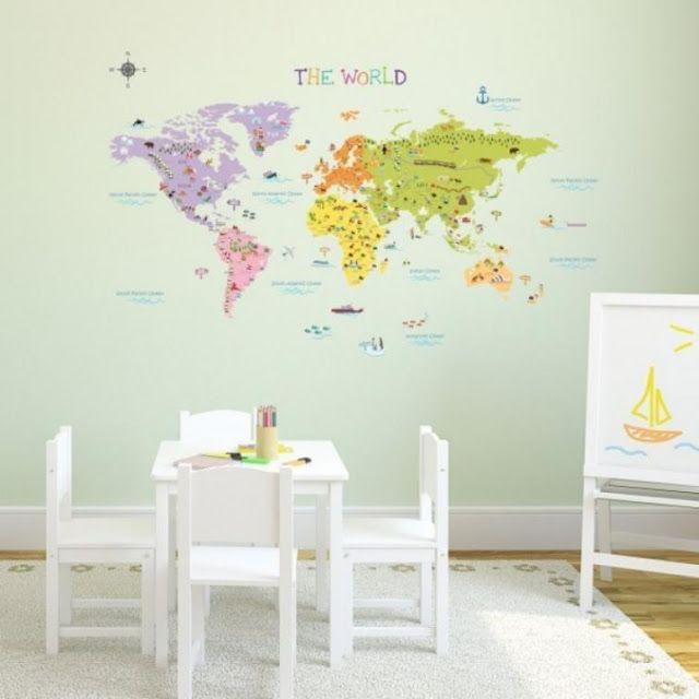 20 Ιδέες Διακόσμησης με Χάρτες