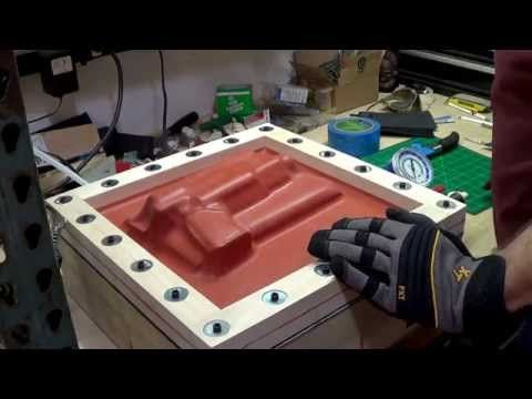 DIY Vacuum Former Press build for Kydex Holster Making - YouTube