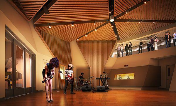 KCRW Studios and Santa Monica College Design Technology Campus In