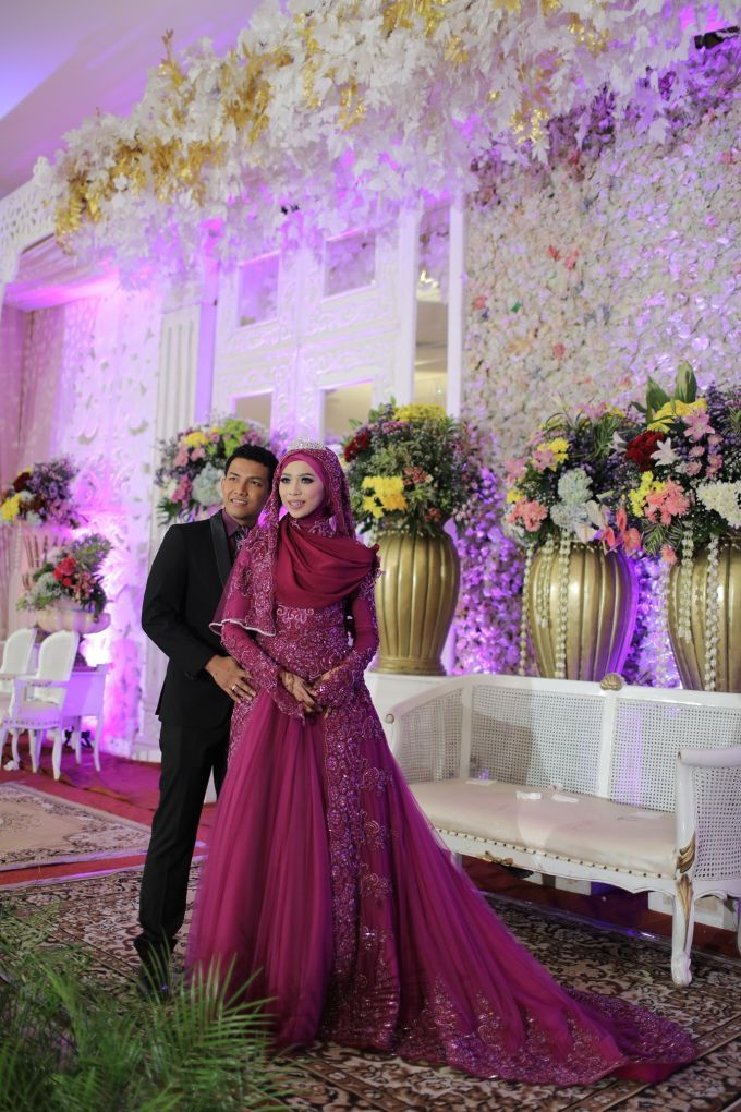 Nurayu & Husein by LAKSMI - Kebaya Muslimah & Islamic Wedding Service - 020