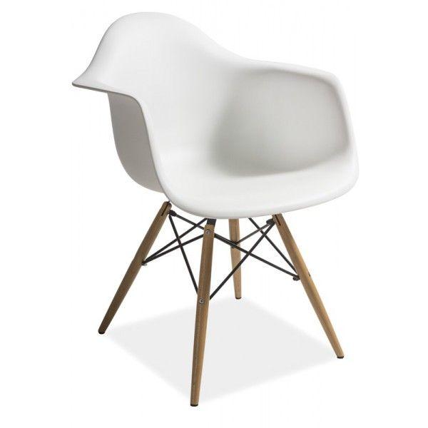 Fotel Mondi biały