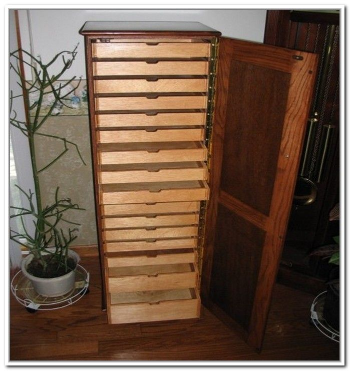 Rubber Stamp Storage Cabinets  bead and button art