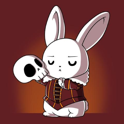 The Killer Rabbit of Caerbannog goes Hamlet