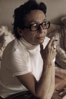 Marguerite Duras, Paris (Gisèle Freund, 1973)