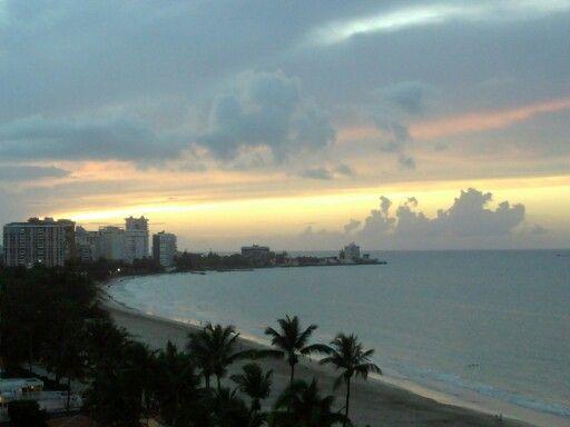 Tropical beach isla verde pureto rico :)