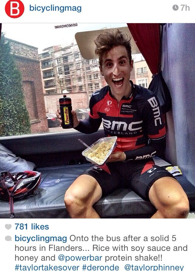 Taylor Phinney- he has the best personality