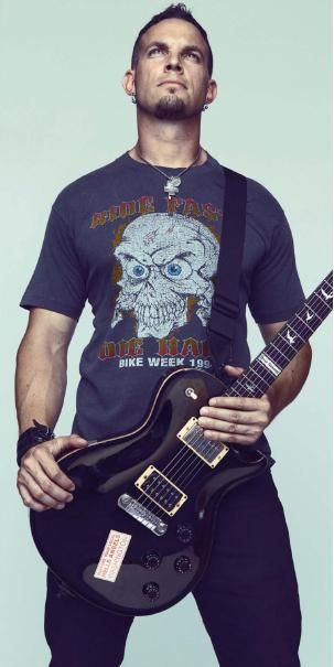 Mark Tremonti - Guitarist - Alter Bridge/Creed/Tremonti Project, etc. One of the most underrated musicians ever.
