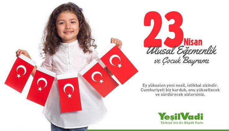 23 Nisan Ulusal Egemenlik ve Çocuk Bayramı Kutlu Olsun. #23Nisan #UlusalEgemenlikveÇocukBayramı #23NisanUlusalEgemenlikveÇocukBayramı