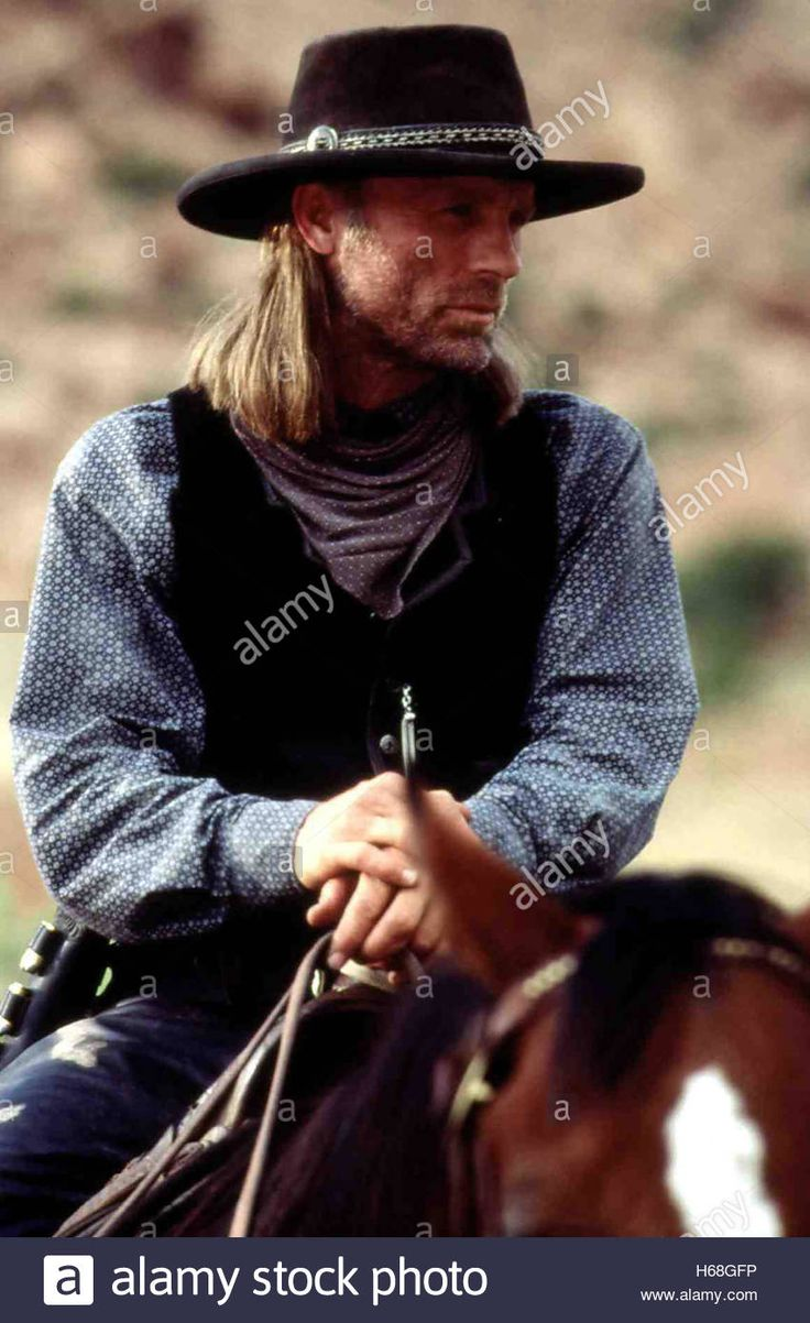 Download this stock image: Lassiter - Erbarmungslos und gefährlich, USA 1996 TV Movie aka. Riders of the Purple Sage Director: Charles Haid Actors/Stars: Ed Harris, Amy Madigan, Henry Thomas - H68GFP from Alamy's library of millions of high resolution stock photos, illustrations and vectors.