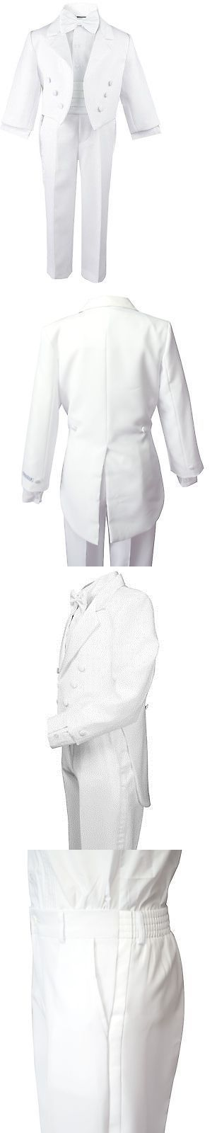 Awesome Prom Dress Suits 99754: White Formal Boy Tuxedo Kids Dress Suit Set Tuxedo With Tail All Si... Check more at http://24store.ml/fashion/prom-dress-suits-99754-white-formal-boy-tuxedo-kids-dress-suit-set-tuxedo-with-tail-all-si/