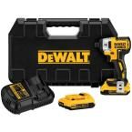 DEWALT 20-Volt Max Lithium-Ion Brushless 1/4 in. Cordless Impact Driver Kit