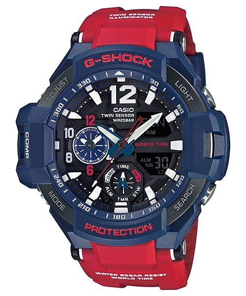 [Обзор G-Shock] GA-1100-1A3ER плюс компас и термометр