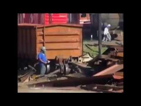Reporter Record - Privatizaçao e sucateamento da RFFSA (Rede Ferroviaria...