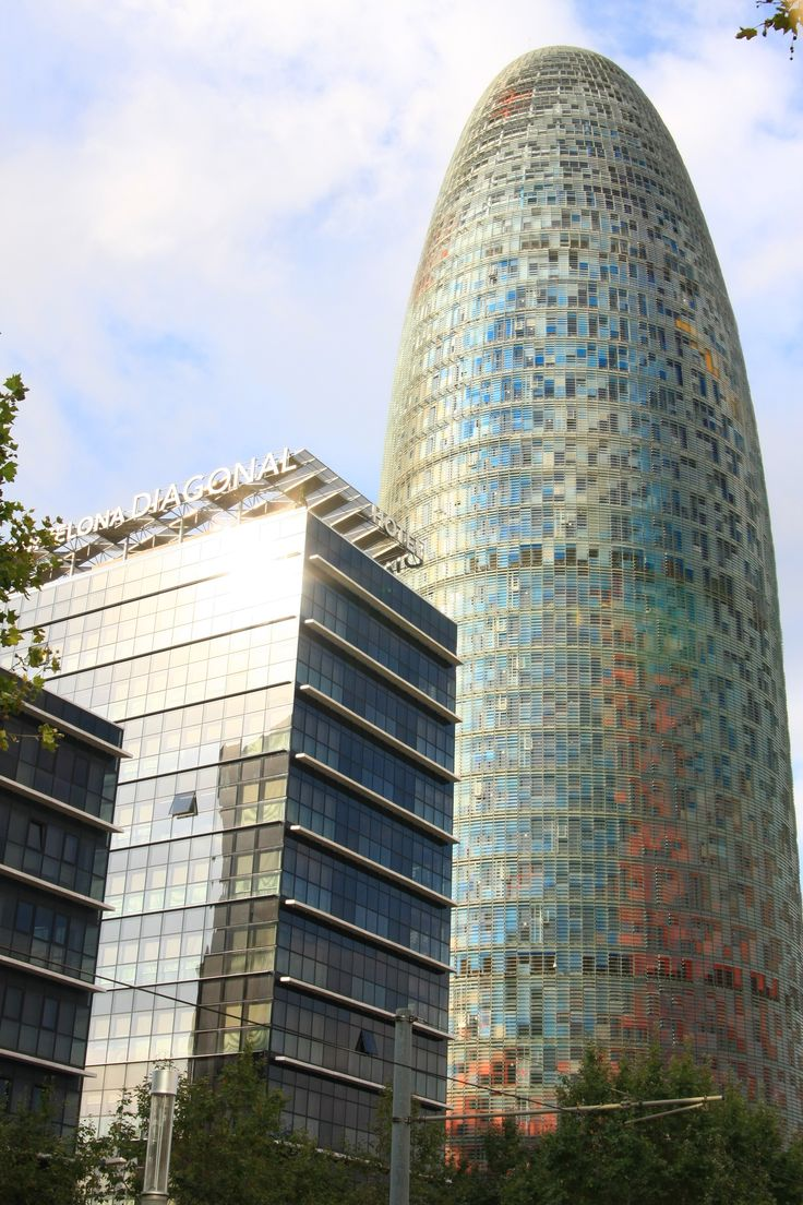 What to see in Barcelona? The Glories Tower!
