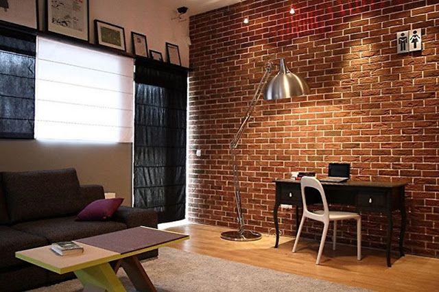 Decorative Brick In The Wall For Interior Decoration Clinker Brick Wall Brick Decor Brick Interior Outdoor Interior Design