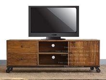 Чердак ретро стиле из кованого железа четыре пары из насосных телевизор кабинет телевизор шкаф для хранения локер(China (Mainland))
