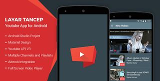 CodeCanyon - Layar Tancep v2.0 - Youtube App