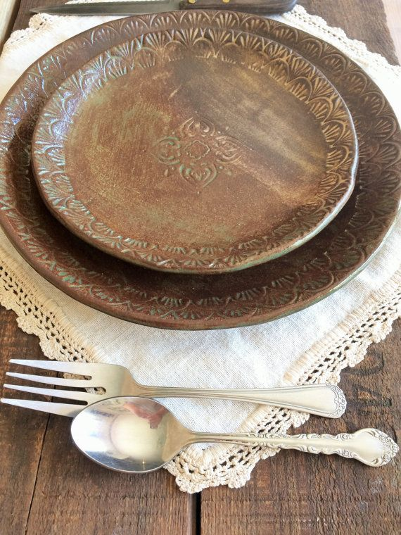 36 Best Rustic Dinnerware Images On Pinterest Rustic
