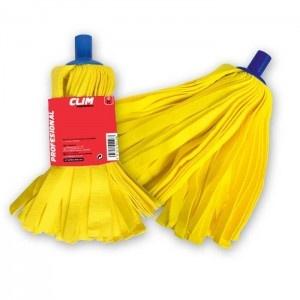 Recambio de fregona profesional de tiras amarillas de 60 cms extrasuave y super resistente, ideal para la limpieza de suelos profesional.