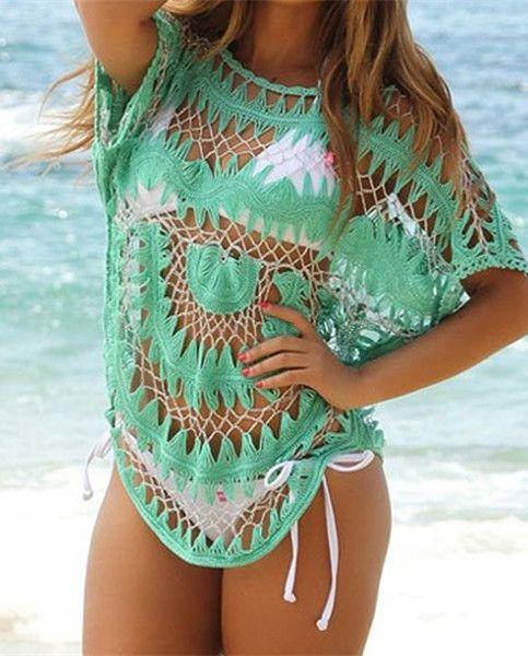 Dolman Sleeve Bikini Cover