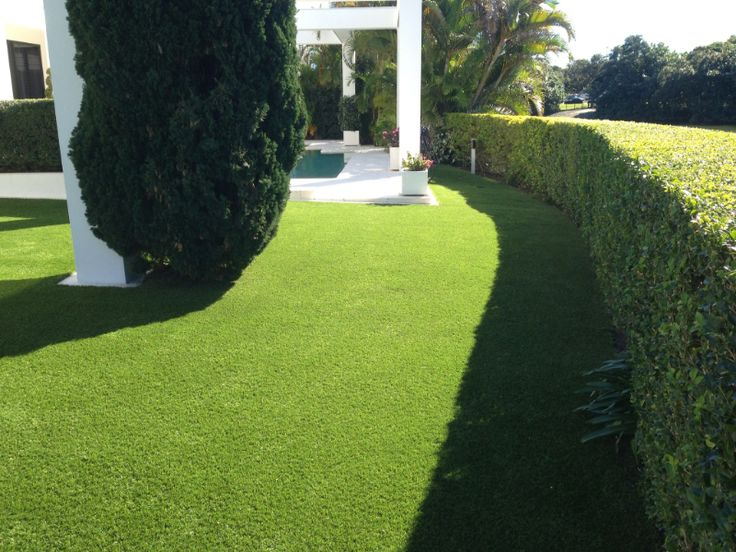 Private Home Artificial Grass - synthetic turf lawn