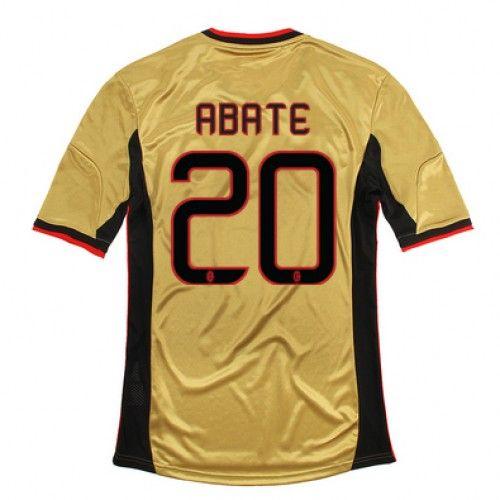 Maglia AC Milan 2013-2014 3rd 20 ABATE