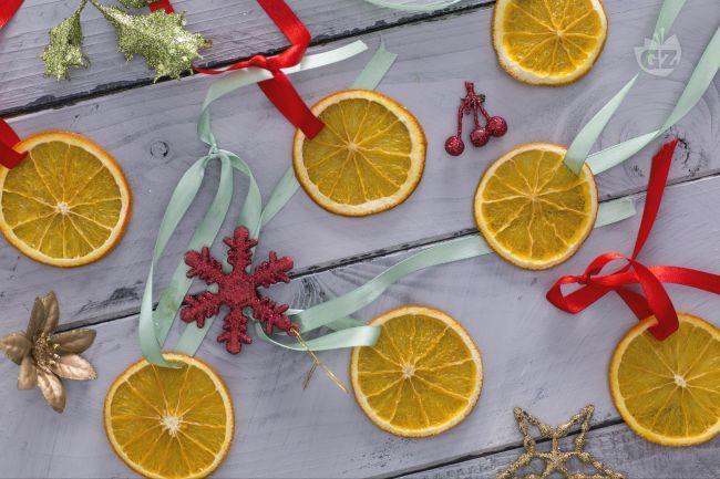 Fettine di arancia essiccate