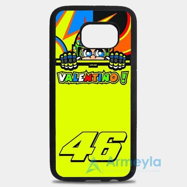 Valentino Rossi Vr46 Forty Six Motogp Team Samsung Galaxy S8 Case | armeyla.com