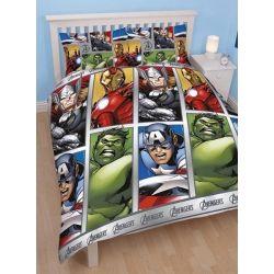 Parure de lit The Avengers - 2 personnes 200x200 cm