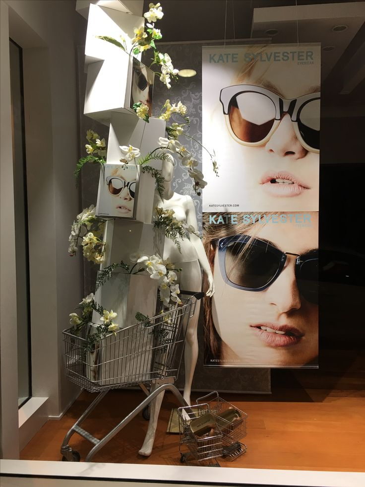 """VISION X OPTOMETRIST, Parnell, Auckland, New Zealand, """"Fresh Eyewear Delights Arriving Daily"""", for Kate Sylvester Eyewear, creative/photo by Ton van der Veer"""