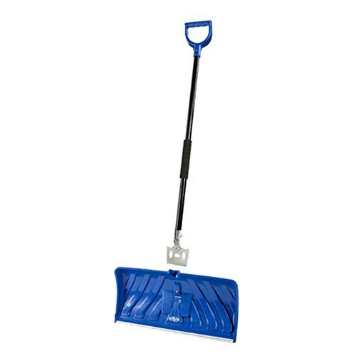 Snow Joe Edge 2-in-1 Poly Blade 24 in. Snow Pusher and Ice Chopper - Blue Dimensions: 51.6L x 11.8W x 3.7H in. Polypropylene, cold resistant scoop 24-inch snow blade https://homeandgarden.boutiquecloset.com/product/snow-joe-edge-2-in-1-poly-blade-24-in-snow-pusher-and-ice-chopper-blue/