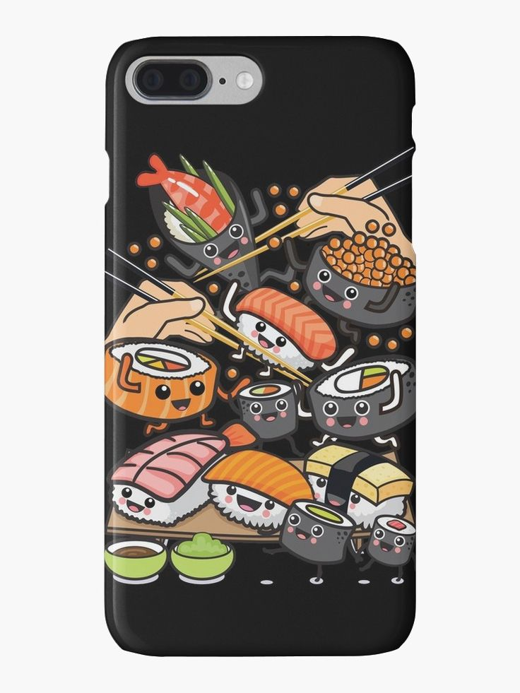 MADE A SALE -  #Sushi Party! • Also buy this artwork on phone cases, apparel, stickers, and more. #backtoschool