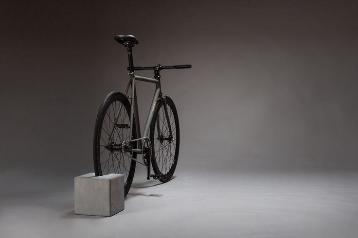 BikeBlock,bicycle stand - concrete by URBANATURE made in Germany on CROWDYHOUSE