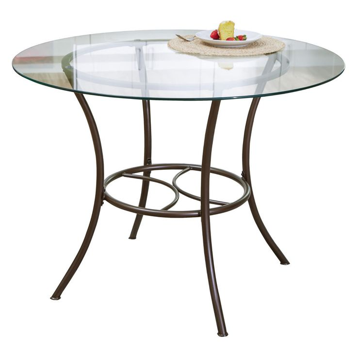 Round Glass Dining Table With Metal Base 33 best metal base for round granite kitchen table images on