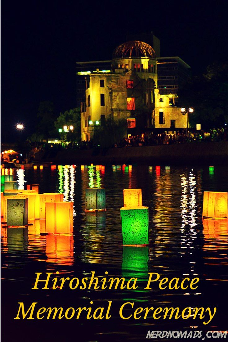 The stunning and atmospheric Peace Memorial Ceremony in #Hiroshima. @nerdnomads http://nerdnomads.com/peace-memorial-ceremony-hiroshima